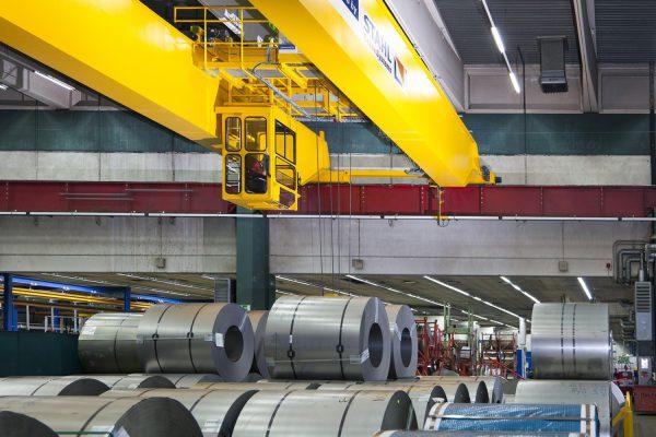 Cầu trục dầm đôi chính hãng lắp đặt trọn gói