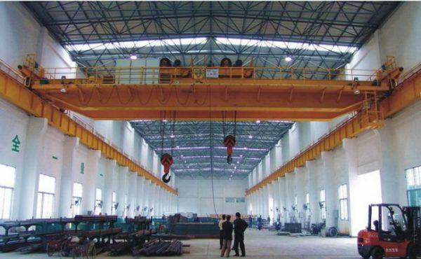 Cầu trục nhà xưởng an toàn, tải trọng lớn