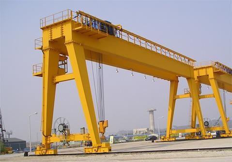 Kết cấu cơ bản của cổng trục trong nâng hạ hàng hoá